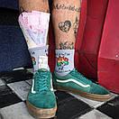 """Шкарпетки сірого кольору """"Гроші не проблема"""", фото 4"""