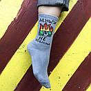 """Шкарпетки сірого кольору """"Гроші не проблема"""", фото 6"""