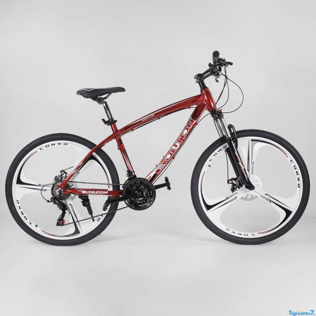"""Горный алюминевый велосипед 26"""" CORSO EVOLUTION 17"""""""
