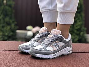 Женские кроссовки серые спортивные комфортные, фото 3