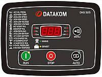 DATAKOM DKG-325 Панель управления генератором мощностью до 15KVA со встроенным зарядным устройством, силовыми контакторами и токовыми трансформаторами