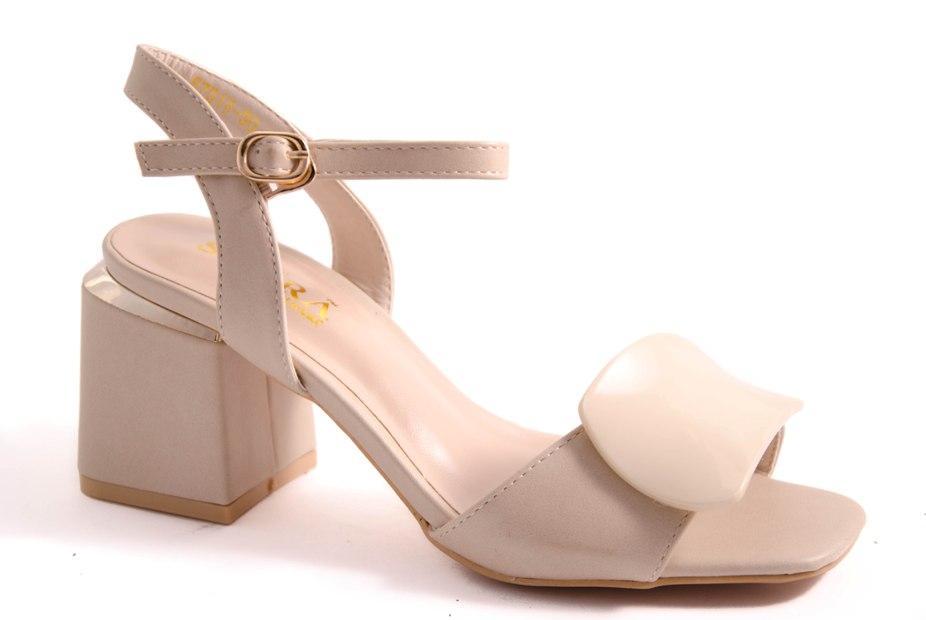Босоножки женские бежевые Allshoes 8751W-50