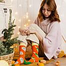 """Новогодние носки """"Shampusik"""" от SOX, фото 4"""