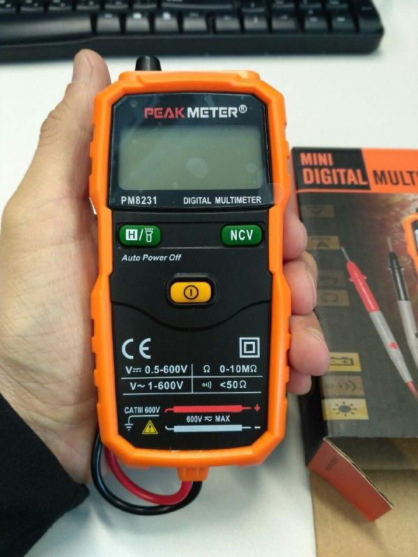 Тестер мультиметр PM8231 PROTESTER