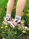 """Белые хлопковые женские носки """"СЕКС БОМБА"""" от Sunny Focks, фото 3"""