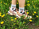 """Белые хлопковые женские носки """"СЕКС БОМБА"""" от Sunny Focks, фото 4"""