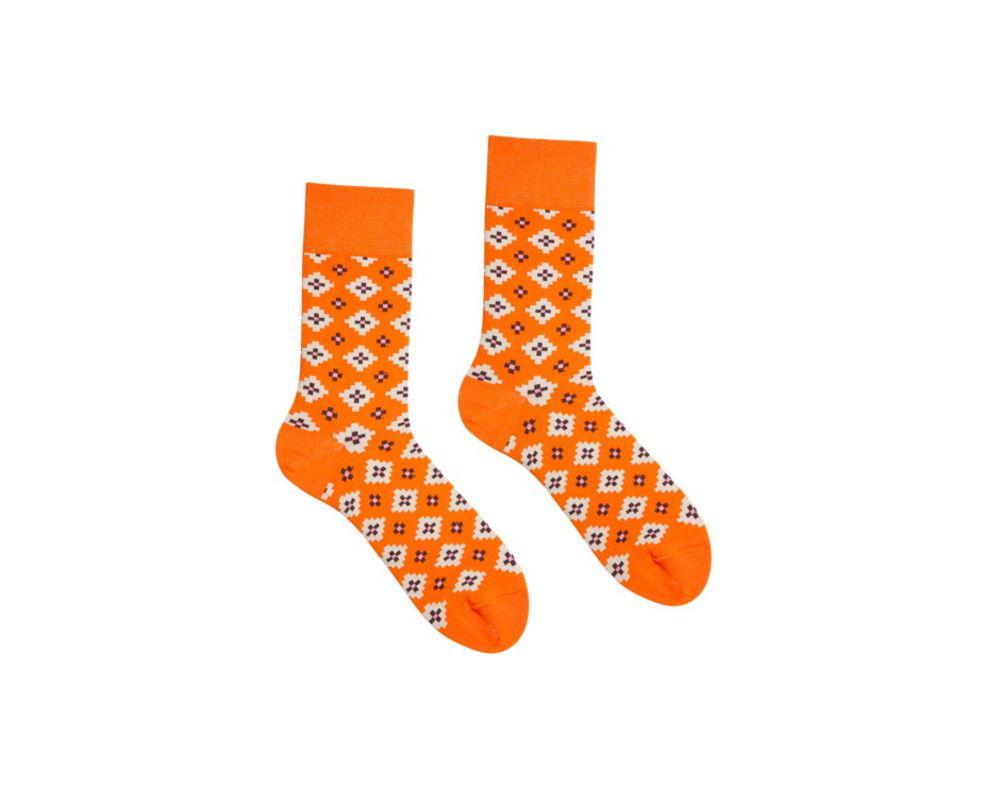 Помаранчеві шкарпетки CHOLULA від Sammy-Icon