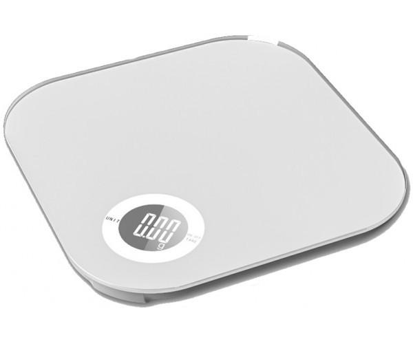 Весы кухонные GRUNHELM KES-10W (белые) на 10 кг