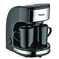 Кофеварка на 2 чашки MAGIO МG-348