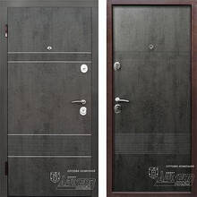 Дверь входная металлическая ABWEHR,Louna (246),Nova,Avers,бетон,860х2050 правая