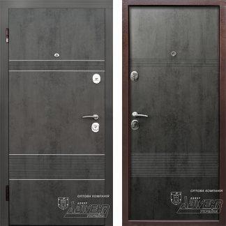Дверь входная металлическая ABWEHR,Louna (246),Nova,Avers,бетон,960х2050 Левая