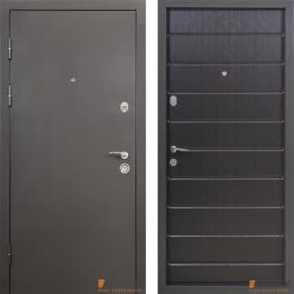 Дверь входная металлическая ABWEHR, Металл/ Studio (76) , Defender,Kale,Венге темный  ,960х2050 ,правая
