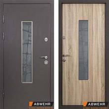 Дверь входная металлическая ABWEHR, Металл/ Solid Glass , Defender,Kale ,960х2050 ,левая