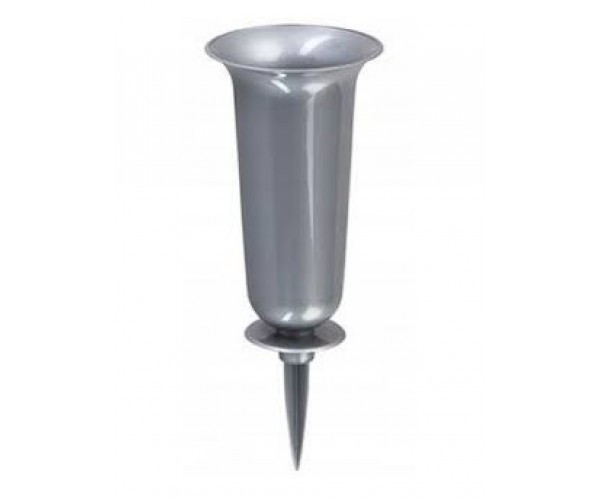 Вазон Дама зі стержнем 13*32,7 (металік)