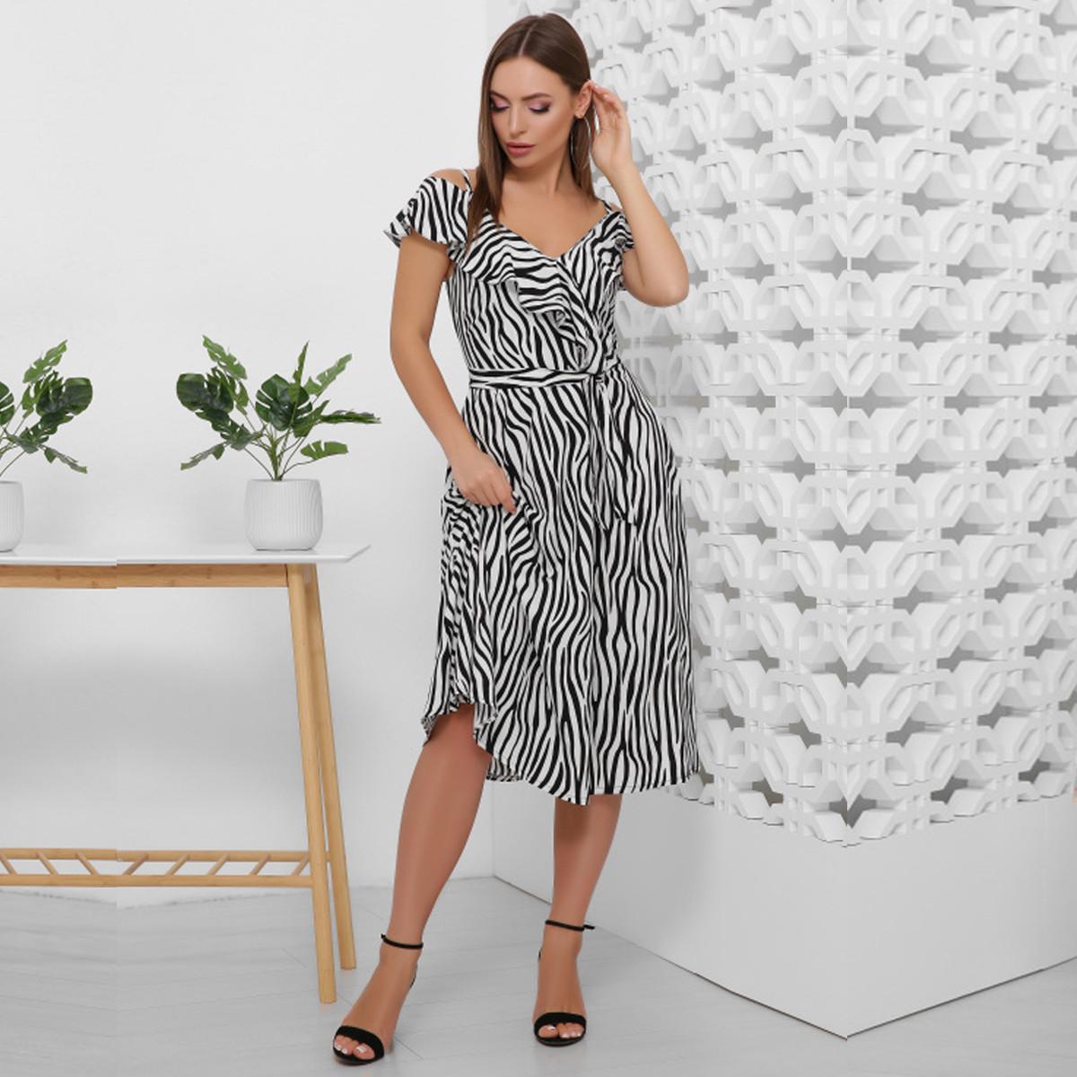 "Модное летнее платье-сарафан 2020 ""Неаполь"""