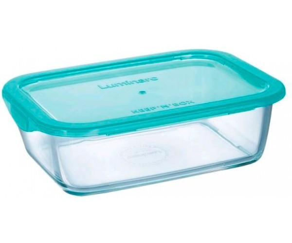 Ємність Luminarc Keep`n Box для їжі прямокутна 820 мл з кришкою