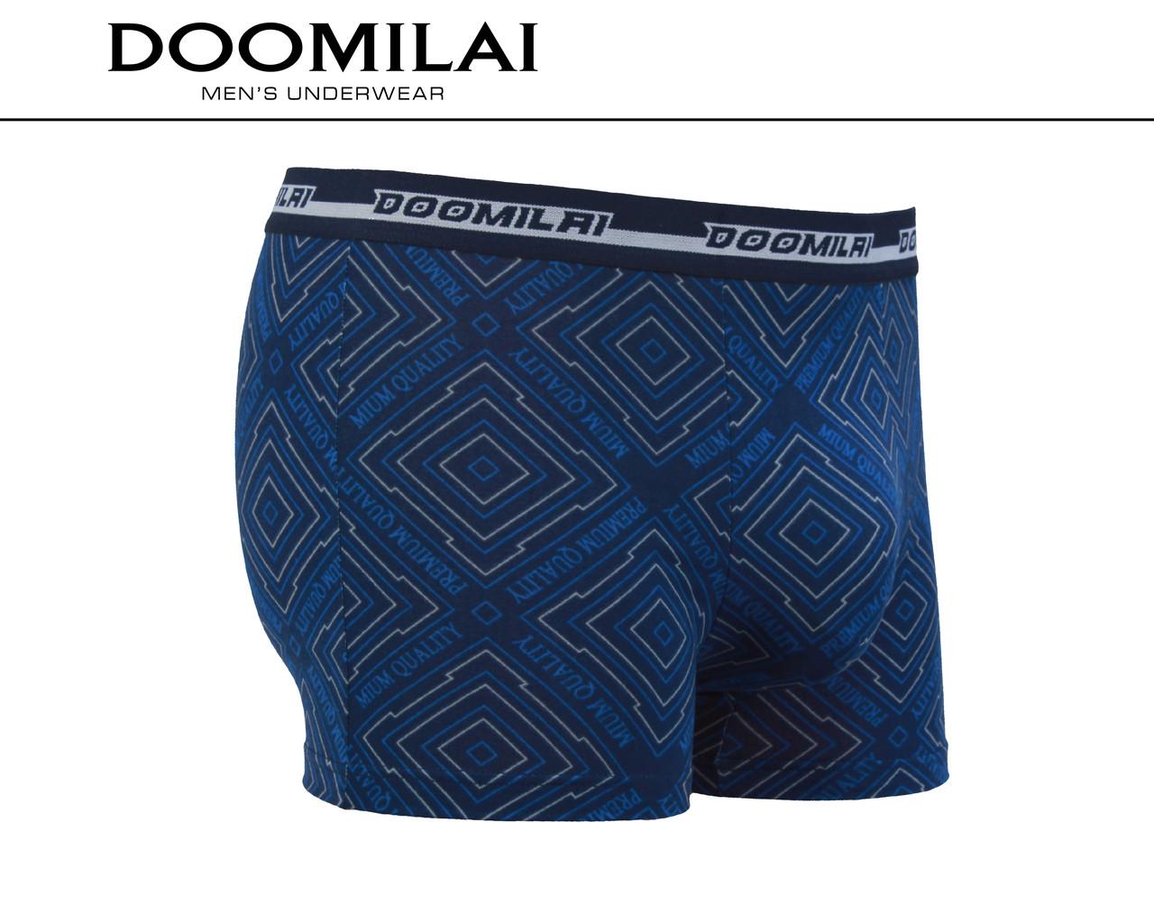 Мужские боксеры стрейчевые из бамбука  Марка  «DOOMILAI» Арт.D-01377