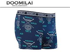 Мужские боксеры стрейчевые из бамбука  Марка  «DOOMILAI» Арт.D-01374