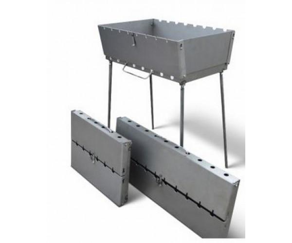 Мангал чемодан 10 шампурів ( 51*31 см )