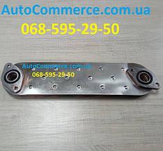 Радиатор масляный теплообменник Isuzu NQR71/75 Исузу, Богдан А092 (8973341011)