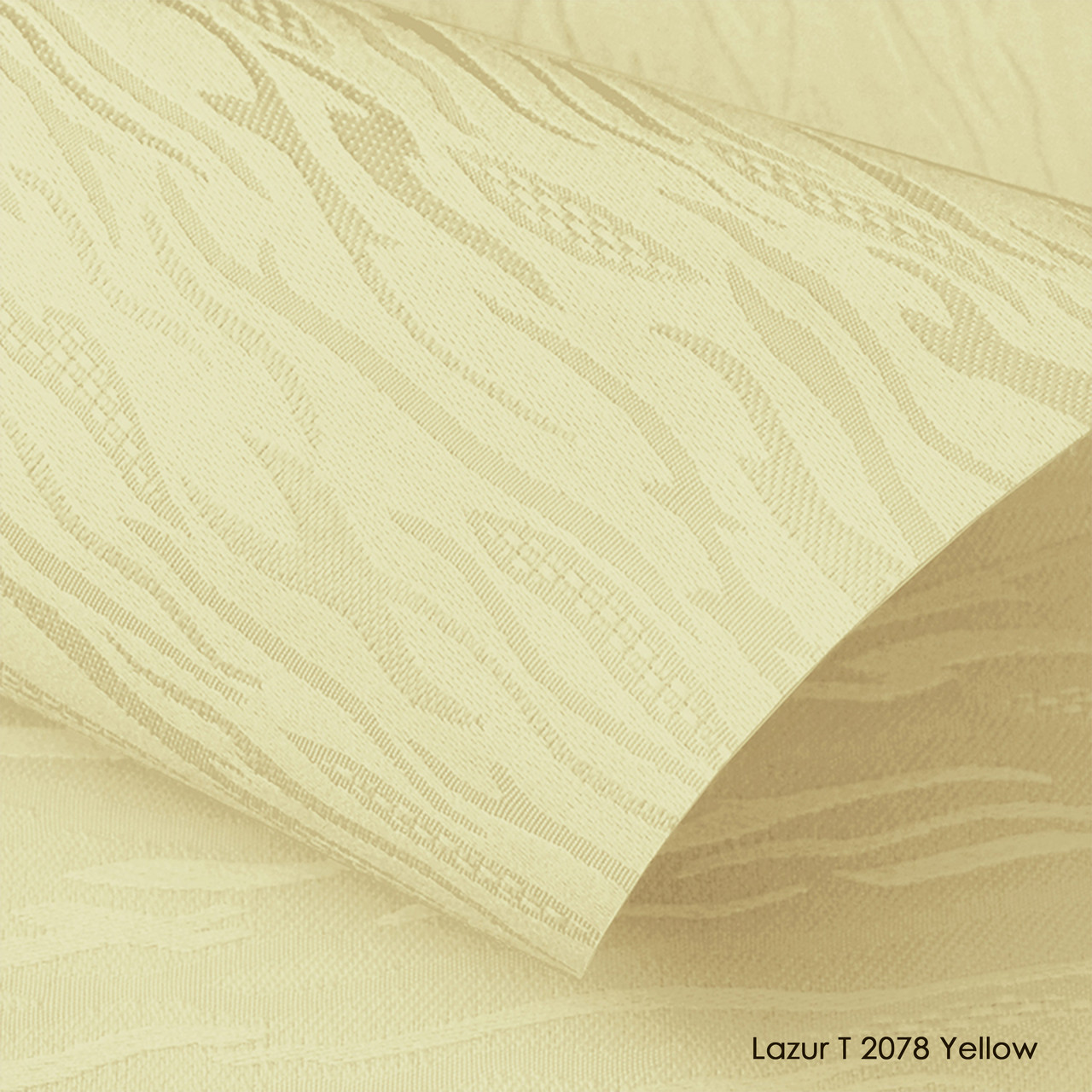 Ролеты тканевые Lazur T 2078 Yellow