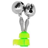Дзвіночок на 2 бубонця сигналізатор клювання для фідера STENSON