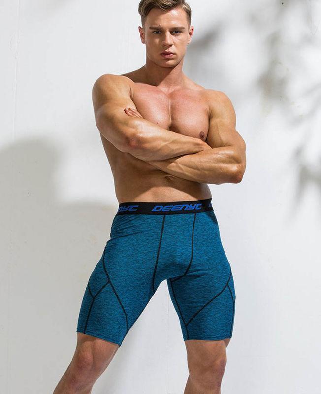 Спортивні бриджі для фітнесу Deenyt синього кольору