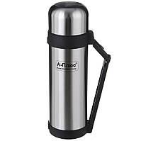 Термос питьевой A-PLUS 1.8 л нержавеющая сталь, фото 1