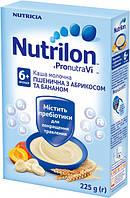 Молочна каша Nutrilon пшеничне з абрикосом і бананом, 225 г