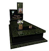Пам'ятник із зеленого граніту 5029/з