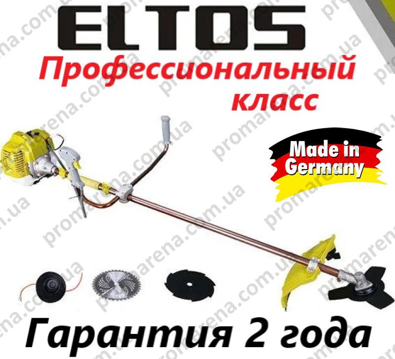 Бензокоса Eltos БГ-5500 (3 ножа, 1 катушка)