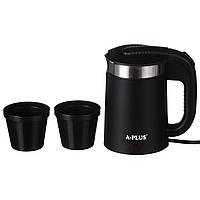 Электрочайник портативный A-PLUS 0.5 л чайник электрический