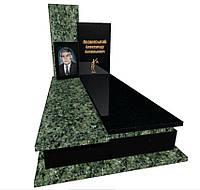 Пам'ятник із зеленого граніту Маславка 5069/з