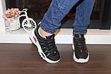Кроссовки женские черные Т1054, фото 5