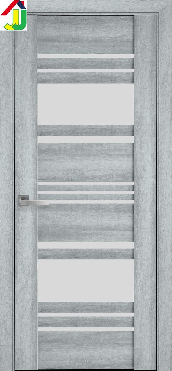 Дверь межкомнатная Новый стиль Ницца ПВХ Вива бук кашемир