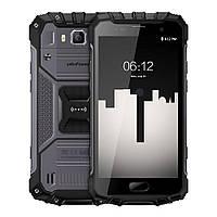 Телефон защищенный с батареей большой емкости и функцией нфс на 2 сим карты UleFone Armor 2S black 2/16 гб