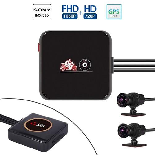 Видеорегистратор для мотоцикла 1080p Wi-Fi VSYS P6L, GPS, ДУ, IP68 2006-03486
