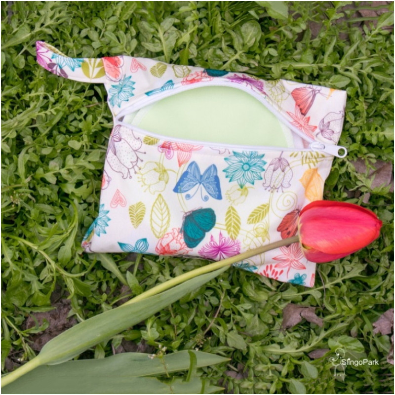Непромокаемая сумочка для хранения прокладок для груди SLINGOPARK