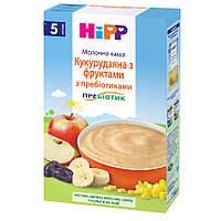 Молочна каша HiPP Кукурудзяна з фруктами, 250 г