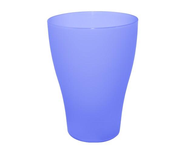 Набір з 6-ти стаканів 0,25 л. (фіолетовий-прозорий)