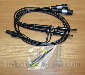Комплект щупів P6100 до осцилографу на 100MHz з дільником.