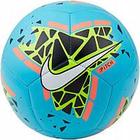 Мяч футбольный Nike Pitch SC3807-486 Size 5 полиуретановый для улицы и спортзала