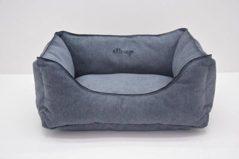 Лежак Лори Мираж №5 70 х 100 х 25 см Серый