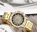 Наручные женские часы с золотистым ремешком код 451, фото 2
