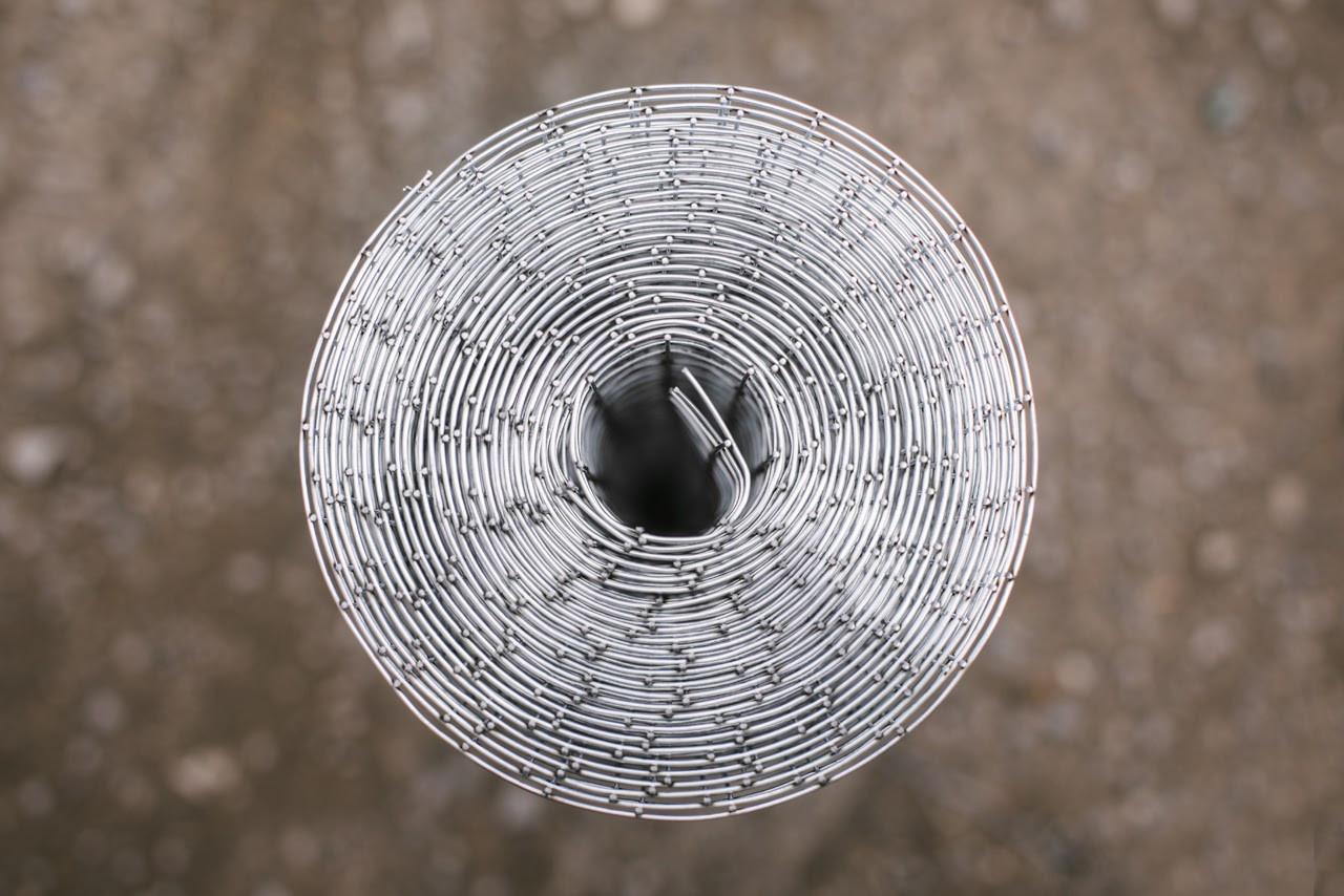 Сітка Зварна оцинкована 25х12.5мм діаметр 1.60 мм висота 1м рулон 30м