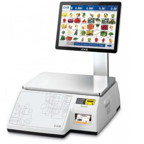 Мультимедийные весы самообслуживания с чекопечатью CAS CL-7200S-2