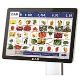 Мультимедийные весы самообслуживания с чекопечатью CAS CL-7200S-2, фото 3