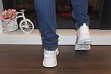 Кроссовки женские белые с сеточкой Т1056, фото 5
