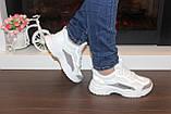 Кроссовки женские белые с сеточкой Т1056, фото 6