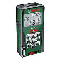 Дальномер лазерный Bosch PLR 50 (рулетка бош)